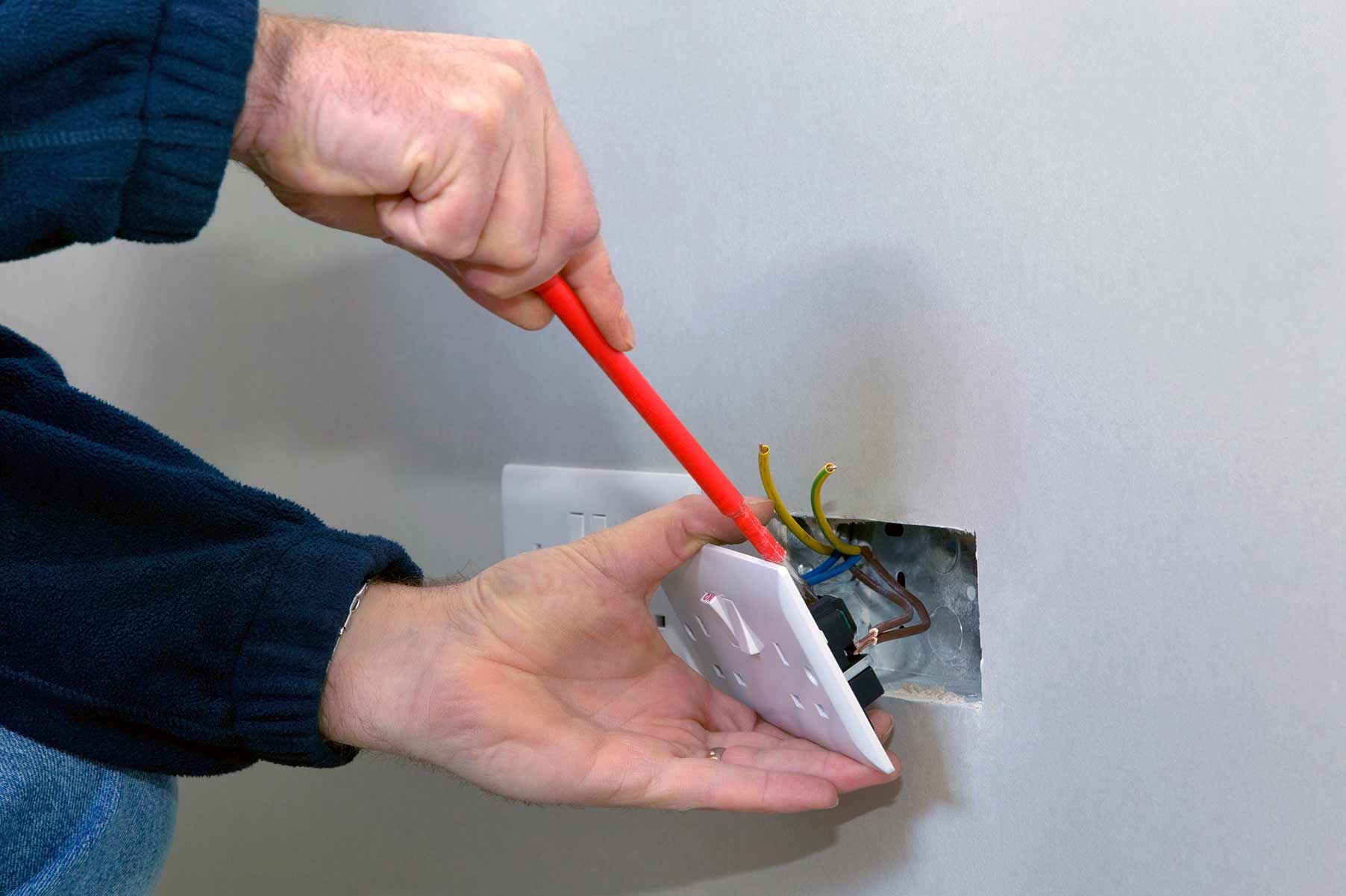 Our electricians can install plug sockets for domestic and commercial proeprties in Ruislip and the local area.